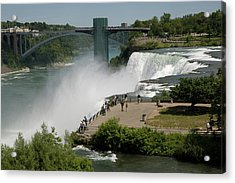 Acrylic Print featuring the photograph View Of American Niagara Falls by Jeff Folger