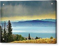 View Of Bear Lake Acrylic Print