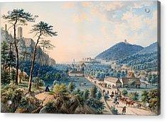 View Of Castle Weilburg - Lower Austria Acrylic Print
