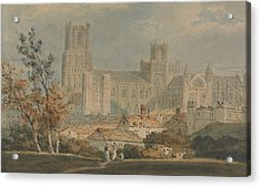 View Of Ely Cathedral Acrylic Print by Joseph Mallord William Turner