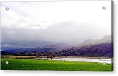 View Of Glencar Acrylic Print by Amy Williams