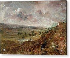 View Of Hampstead Heath Acrylic Print