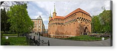 View Of Krakow Barbican, Krakow, Poland Acrylic Print by Panoramic Images