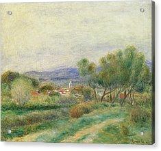 View Of La Seyne Acrylic Print by Pierre Auguste Renoir