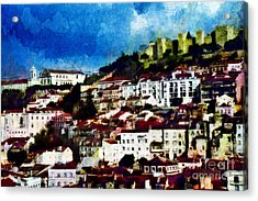 View Of Lisbon Acrylic Print