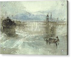 View Of Lucerne Acrylic Print by Joseph Mallord William Turner
