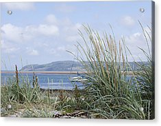 View Of North Wales Acrylic Print by Gillian Dernie