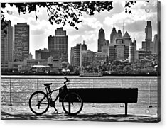 View Of Philadelphia  Acrylic Print