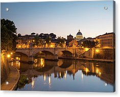 View Of Rome Acrylic Print