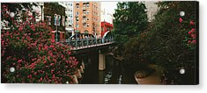 View Of San Antonio River Walk, San Antonio, Texas, Usa Acrylic Print