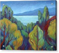 View Of San Francisco Bay Acrylic Print
