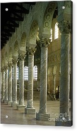 View Of The Basilica, Saint Apollinaire In Classe, Ravenna, Italy Acrylic Print