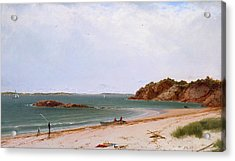 View Of The Beach At Beverly Massachusetts Acrylic Print