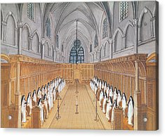View Of The Choir Acrylic Print by Louise Madelaine Cochin
