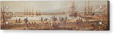 View Of The New Port Of Toulon Acrylic Print