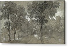 View Of The Park At Arcueil Acrylic Print