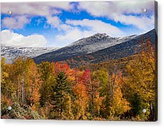 View Of The Presidential Mountains Acrylic Print