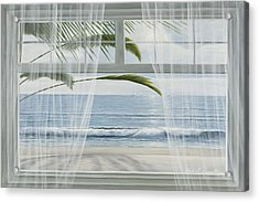 View Of The Tropics Acrylic Print