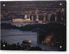 View Of Vancouver, British Columbia Acrylic Print by Annie Griffiths