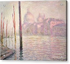 View Of Venice Acrylic Print by Claude Monet
