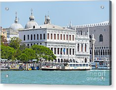 View On Piazza Acrylic Print by Svetlana Sewell