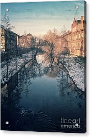 View Onto The River  Acrylic Print