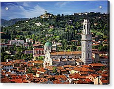 View Over Verona Italy  Acrylic Print