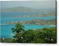 Acrylic Print featuring the photograph View Paradise by Lori Mellen-Pagliaro