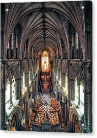 View Through Ely Cathedral Acrylic Print