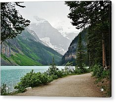 Acrylic Print featuring the photograph Views Of Louise by Al Fritz