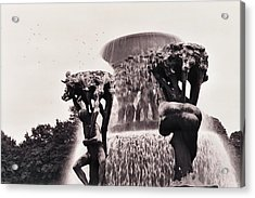 Vigeland Acrylic Print by Gregory Barger