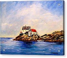 Vikeholmen Lighthouse Acrylic Print
