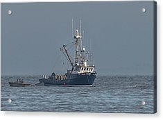 Acrylic Print featuring the photograph Viking Fisher 1 by Randy Hall