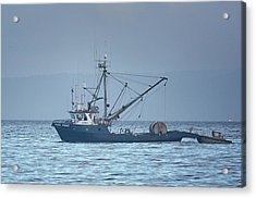 Acrylic Print featuring the photograph Viking Fisher 3 by Randy Hall