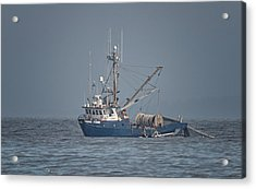 Acrylic Print featuring the photograph Viking Fisher 4 by Randy Hall