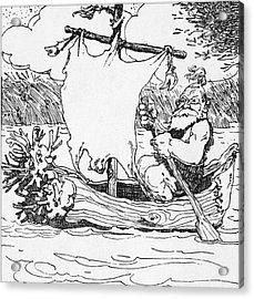 Viking Acrylic Print