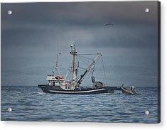 Viking Tide Acrylic Print