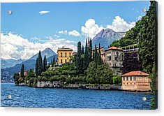 Villa Cipressi On Lake Como Acrylic Print