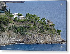Villa Owned By Sophia Loren On The Amalfi Coast In Italy Acrylic Print