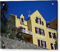 Villa Weiss Acrylic Print by Juergen Weiss