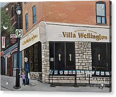 Villa Wellington In Verdun Acrylic Print by Reb Frost