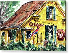 Village Antiques Acrylic Print by Tim Ross
