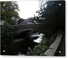 Village Bridge Acrylic Print