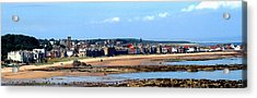 Village By The Sea Acrylic Print by Lyle  Huisken