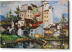 Village Hotel Acrylic Print
