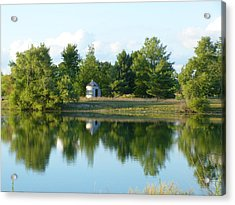 Acrylic Print featuring the photograph Village In Ohio by Donald C Morgan