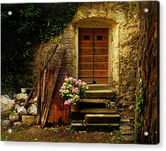 Village Of Hum Croatia Acrylic Print by Don Wolf