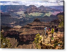 Acrylic Print featuring the photograph Village Rim Trail by Claudia Abbott