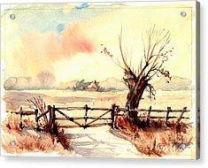 Village Scene IIi Acrylic Print