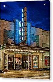 Village Theater Acrylic Print